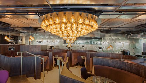 eclectir restaurant tom dixon diseño interiores producto