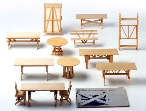 enzo mari autoprogettazione diseño muebles madera