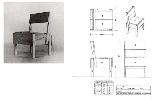 enzo mari autto manual muebles diseño