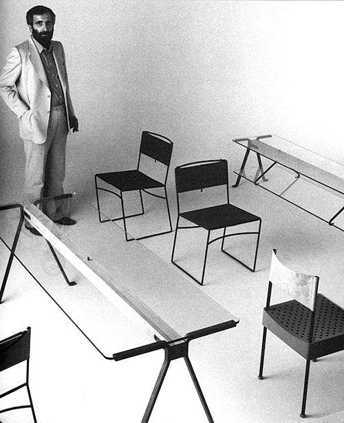 enzo mari muebles diseño italiano producto