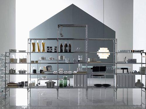 estanteria modular enzo mari diseño producto industrial muebles