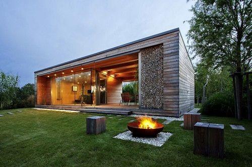exterior casa prefabricada de diseño