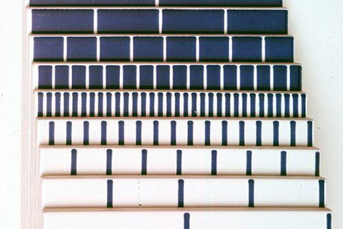 gabbianelli enzo mari azulejos diseño