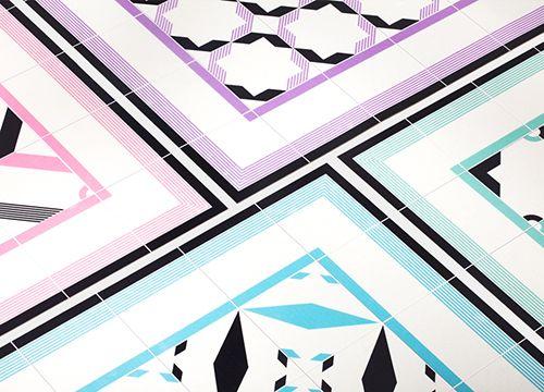 hidraulik modernist rugs alfombras diseño baldosas hidraulicas vintage