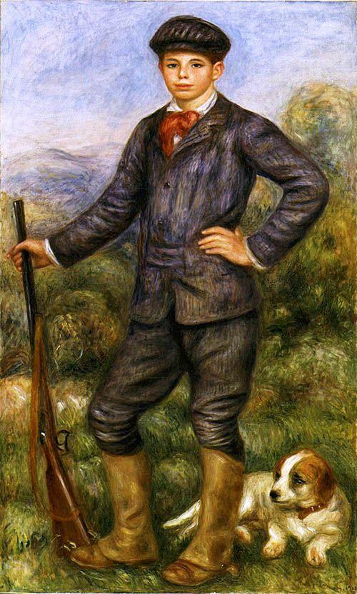 jean renoir cazador pierre auguste arte cuadro lacsa los angeles county museum of art estados unidos