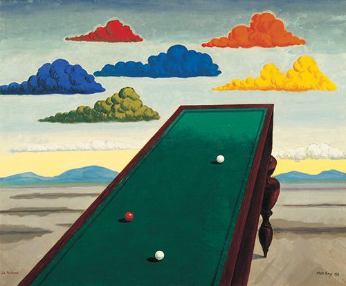 la fortune man ray cuadro surrealista