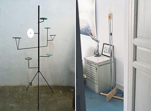 Pablo Limón lamparas diseño producto