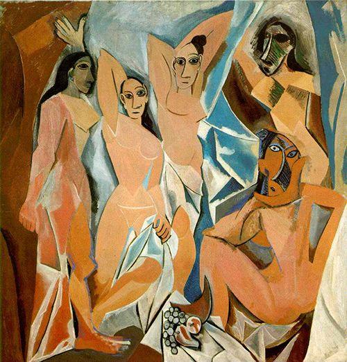 """Las señoritas de Avignon"", Pablo Picasso (1906)"