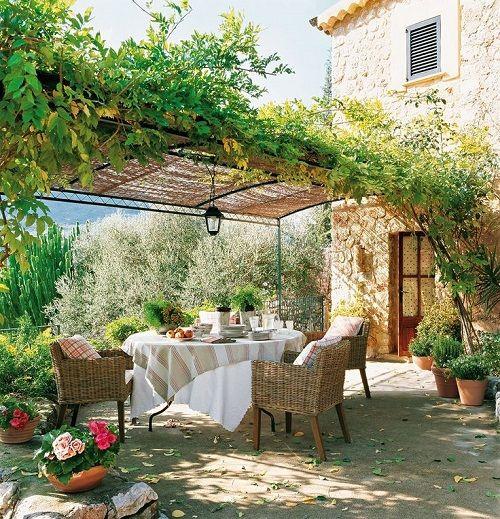 mantel para mesa al aire libre