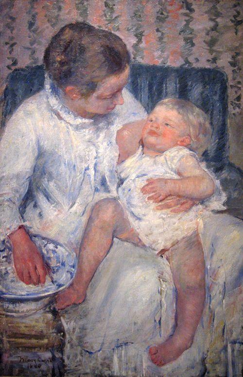 mary cassatt madre hijo cuadro lacsa museo arte los angeles estados unidos