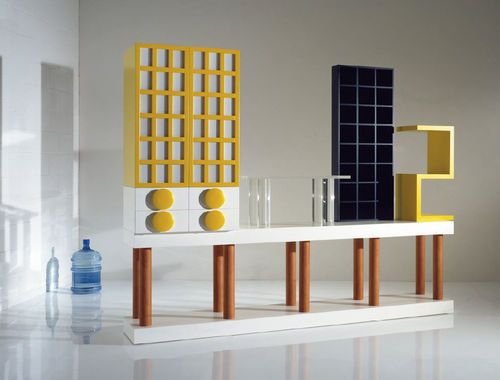 mueble diseño ettore sottsass