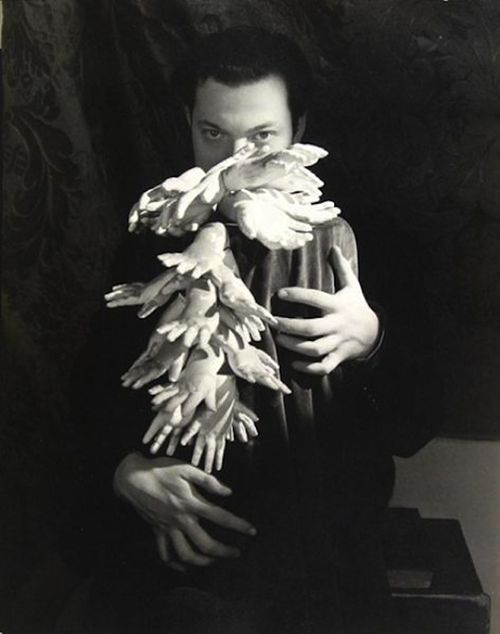orson welles man ray fotografia retrato