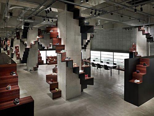 puma house tokio diseño interiorismo oki sato nendo design