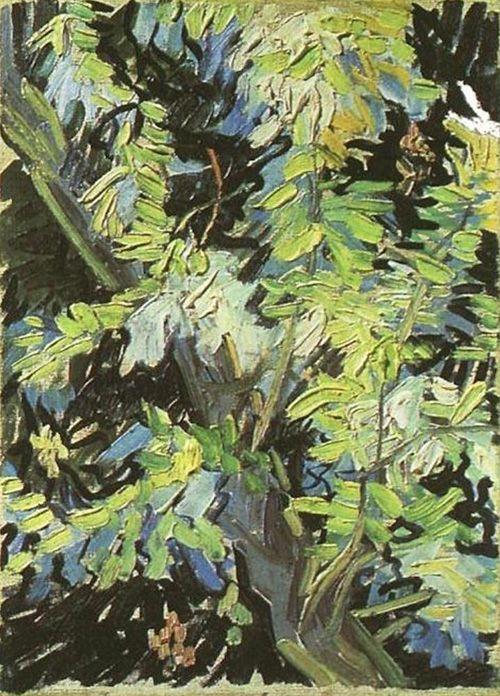 ramas de acacia en flor vincent van gogh museo nacional de estocolmo suecia