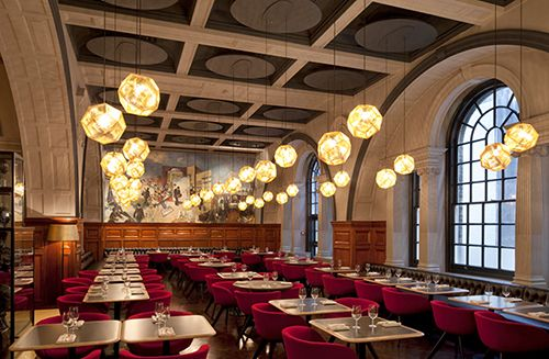 restaurante royal academy londres tom dixon interiorismo diseño