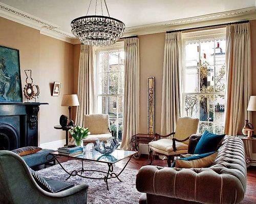 sala de estar estilo victoriano