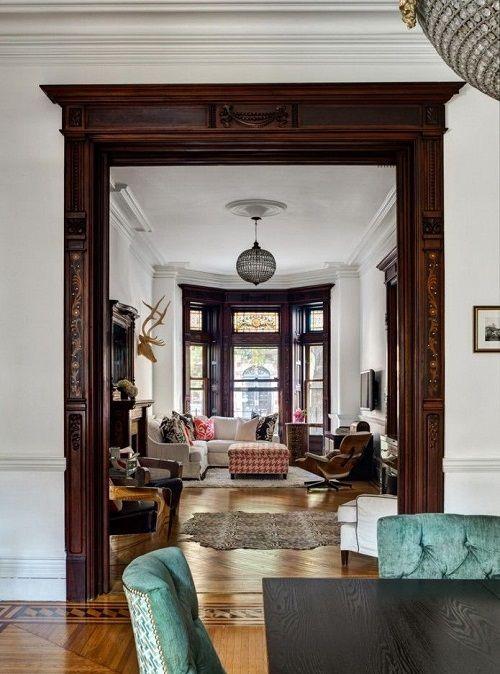 salon estilo victoriano
