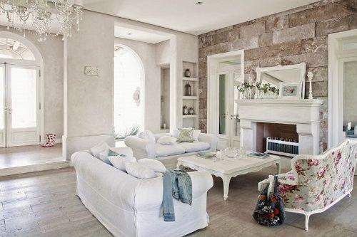 salon moderno de estilo victoriano