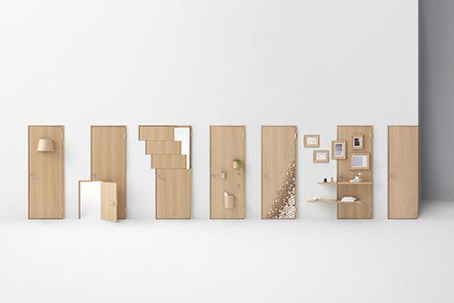 seven doors oki sato nendo design diseño