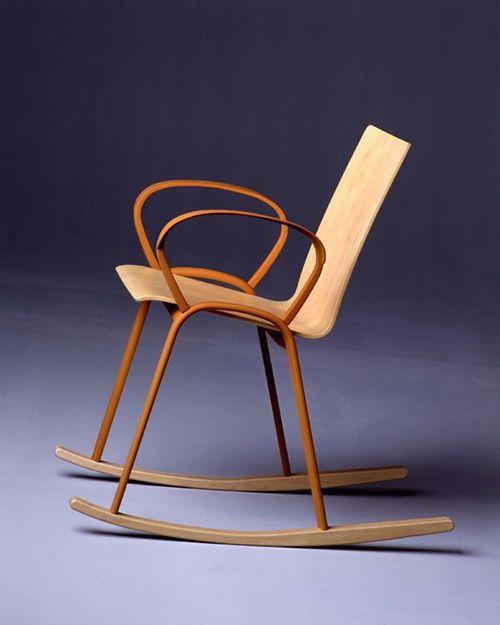 silla enzo mari diseño firma viena gebruder thonet mobiliario
