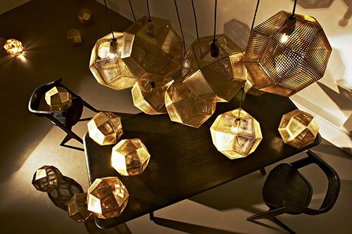 tom dixon diseño milan lampara