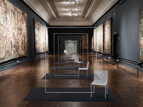 victoria&albert museum londres instalacion silla mimicry nendo design oki sato