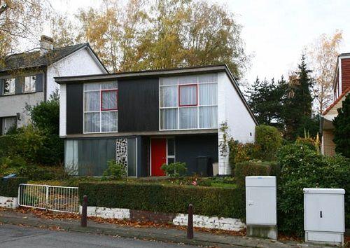 Woning naar ontwerp van Willy Van Der Meeren