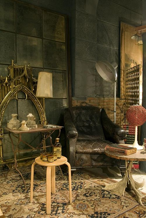 anticuario tienda decoracion vintage barcelona seneca antique boutique