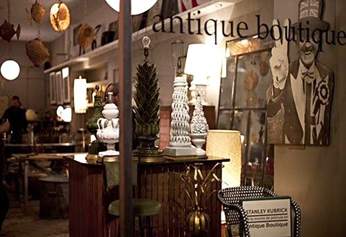 antique boutique barcelona decoracion restauracion muebles vintage