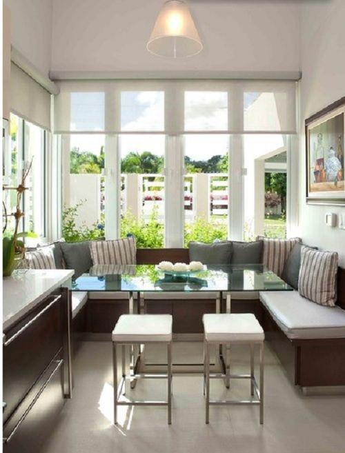 Banquetas bancos y sillas de cocina dise o y estilo moove magazine - Comedor con banca ...