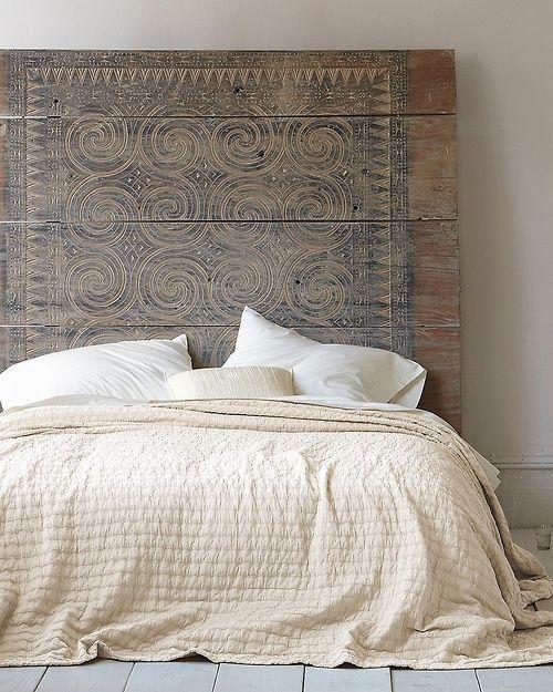 cabecero madera dormitorios tendencia otoño
