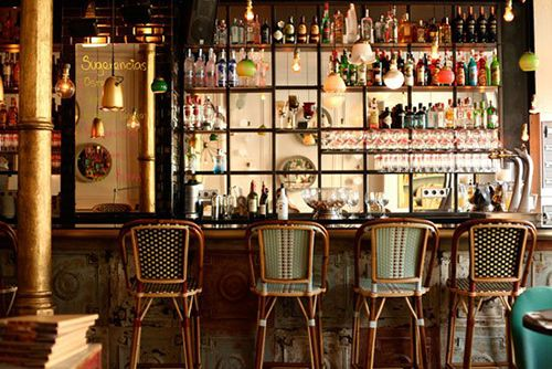 cafe kafka proyecto interiorismo antique boutique barcelona