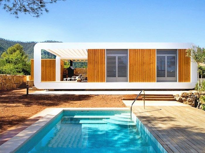 Casas de madera ecosostenibles