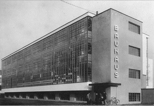 edificio escuela de la bauhaus