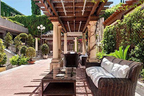 hotel miguel angel madrid terraza restaurante ocio
