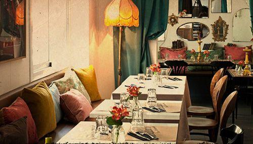 restaurante isabella's barcelona interiorismo antique boutique