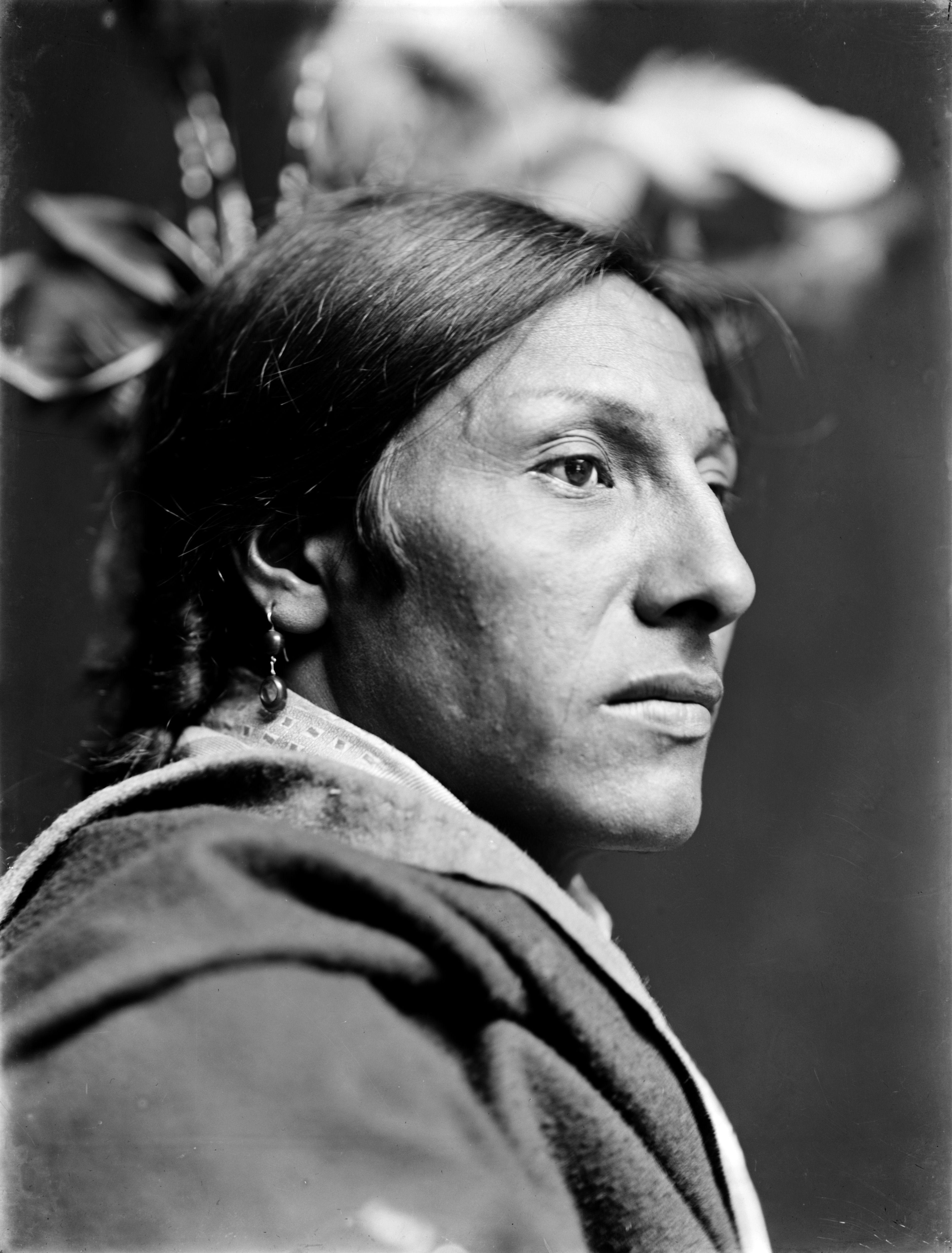 retrato sioux gertrude kasebier fotografia