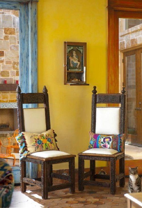 sala decoracion mexicana