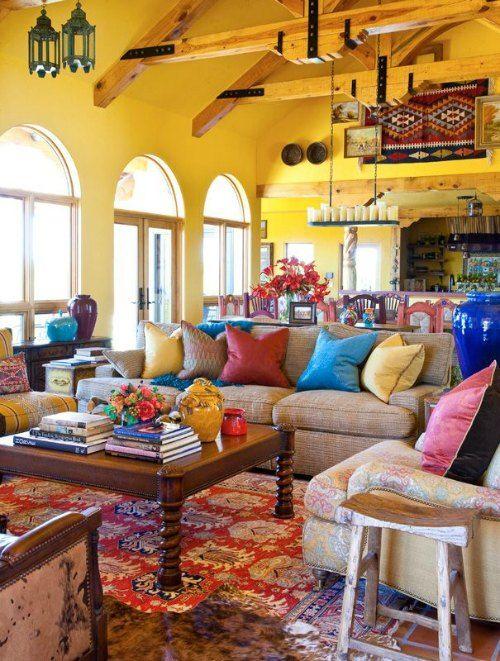 salones con decoracion mexicana (1)