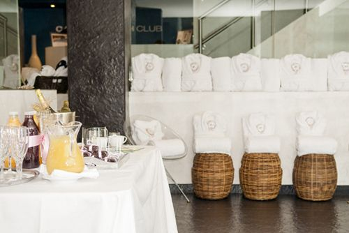 splunch spa lunch hotel miguel angel madrid caroli health club