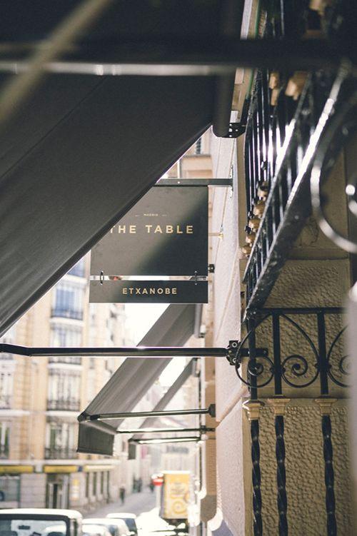 the table by etxanobe restaurante efimero madrid