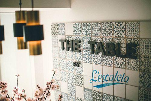 the table by l'escaleta madrid restaurante efimero