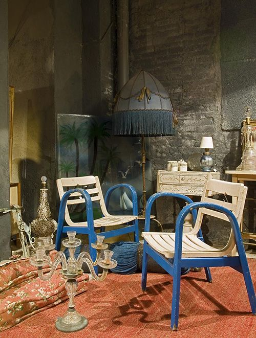 tienda antique boutique seneca barcelona decoracion antiguedades