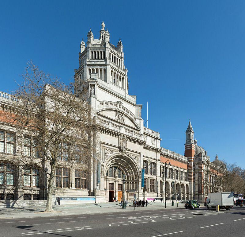 victoria and albert museo londres arte diseño entrada fachada