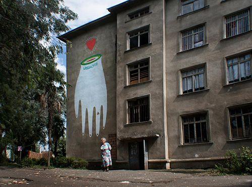amor y vida boa mistura georgia arte urbano