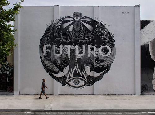 boa mistura futuro barcelona arte callejero