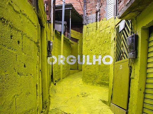 boa mistura luz nas vielas arte urbano brasil
