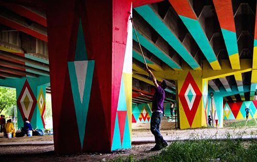 boa mistura madrid arte urbano