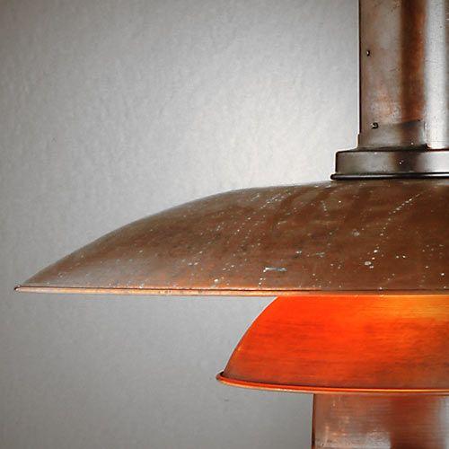 detalle lampara ph poul heningsen diseño