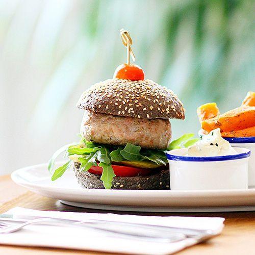 hamburguesa vegetal flax kale barcelona restaurante flexitariano